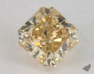 radiant0.42 Carat fancy brownish yellowVVS1