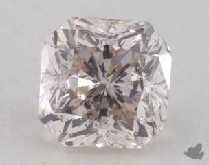 radiant1.13 Carat fancy pinkI1