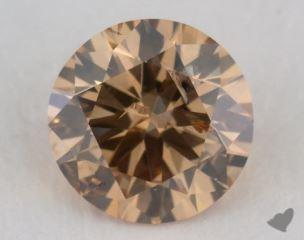 round1.01 Carat fancy brownish yellow