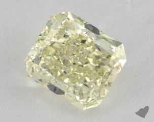 radiant2.11 Carat fancy light yellowSI1
