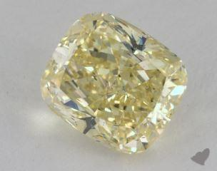 cushion3.20 Carat fancy yellowSI1