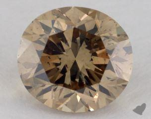 oval1.57 Carat fancy yellowSI2