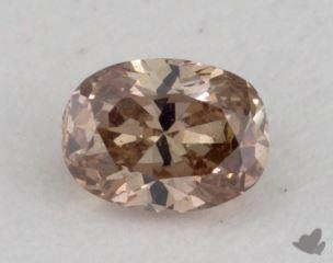 oval0.20 Carat fancy deep pinkVS1
