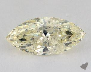 marquise3.44 Carat light yellowI2