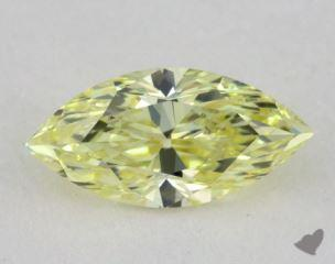marquise0.51 Carat fancy yellowVS1