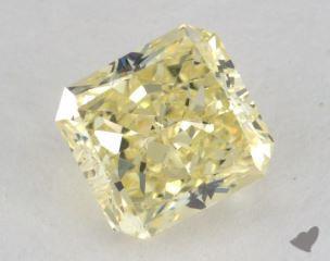 radiant1.51 Carat fancy yellowSI1