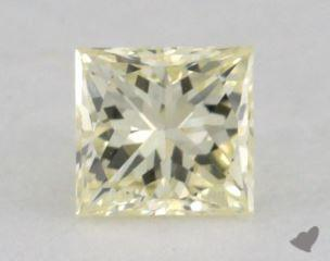 princess0.22 Carat light yellowVS1