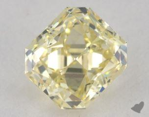 radiant1.38 Carat fancy light yellowVS1