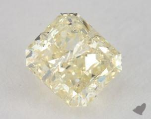 radiant1.43 Carat fancy light yellow