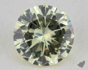 round0.52 Carat light yellowSI1