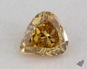heart0.24 Carat fancy deep brownish yellowVS2