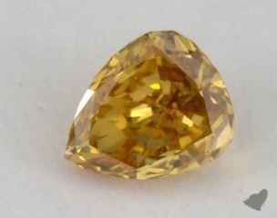 pear0.22 Carat fancy deep brownish yellowSI2