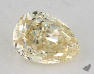 pear1.50 Carat fancy yellowSI2