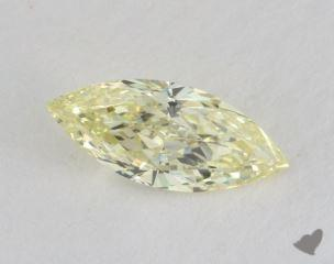 marquise0.51 Carat fancy light yellowVS1