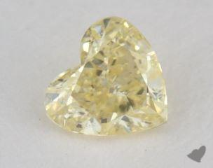 heart0.21 Carat fancy light yellowI1