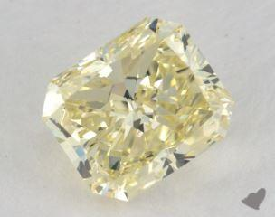 radiant2.02 Carat fancy light yellowVS1