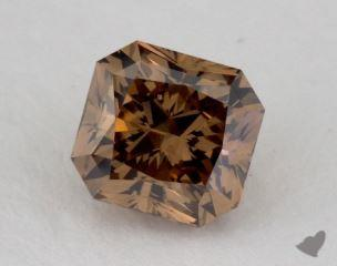 radiant1.14 Carat fancy orange brownSI2