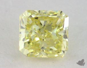 radiant0.52 Carat fancy intense yellowVVS2