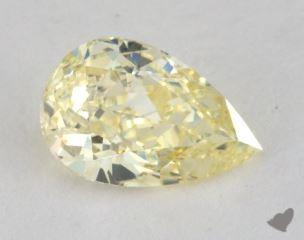 pear0.91 Carat fancy yellowSI1