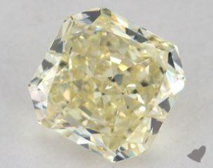 radiant1.38 Carat fancy light yellowVS2