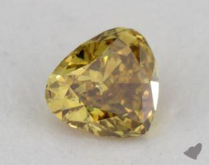 heart0.28 Carat fancy deep brownish orangy yellowVS1