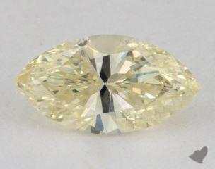 marquise1.23 Carat fancy light yellow