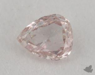 pear0.16 Carat fancy light pink