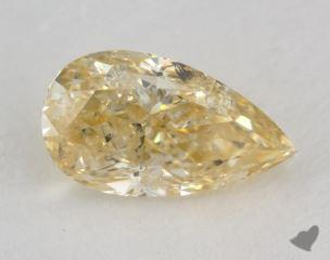 pear1.53 Carat fancy orangy yellowI2