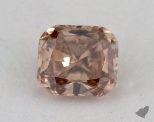 cushion0.25 Carat fancy brownSI2