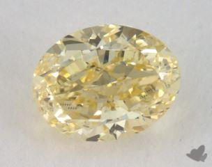 oval0.72 Carat fancy yellowVVS1