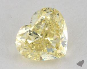 heart1.42 Carat fancy yellowSI2