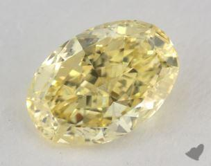 oval2.29 Carat fancy intense yellowVVS2