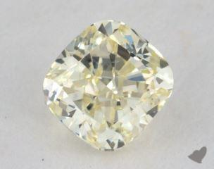 cushion0.65 Carat light yellowSI1