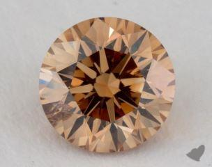 round1.19 Carat fancy brownish yellowI1