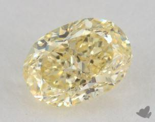 oval0.66 Carat fancy yellowVVS1