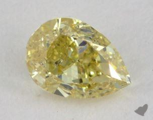 pear0.50 Carat fancy brownish yellowVVS2