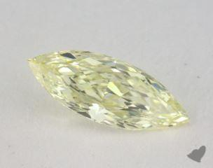 marquise0.53 Carat fancy light yellowVS1