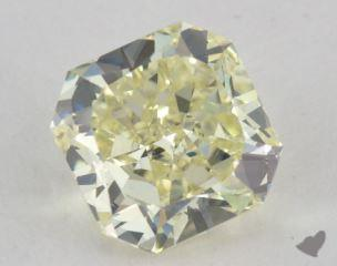 radiant1.73 Carat light yellowVVS2
