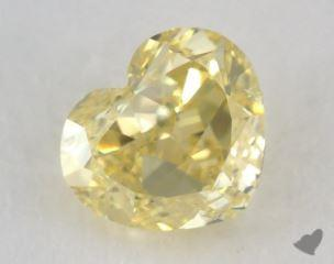 heart1.00 Carat fancy intense yellowSI2