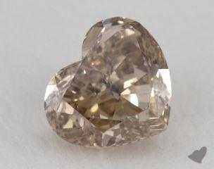 heart1.69 Carat fancy yellowish brownSI2