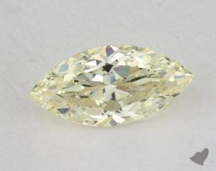 marquise1.63 Carat fancy light yellowVS1