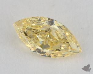 marquise0.66 Carat fancy yellowSI1