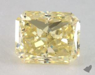 radiant1.50 Carat fancy yellowVS2