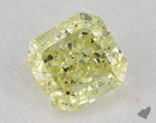radiant0.60 Carat fancy yellowVS1