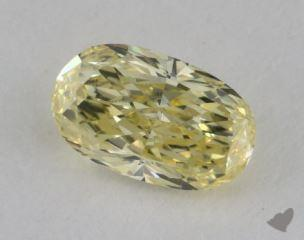 oval0.43 Carat fancy yellowVVS2