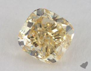 cushion1.73 Carat fancy yellowVS2