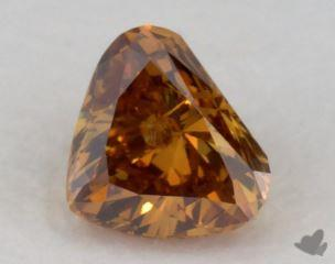 heart0.29 Carat fancy deep orangeI1