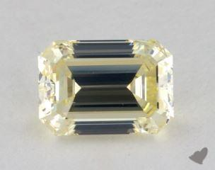 emerald1.30 Carat fancy light yellowVVS2