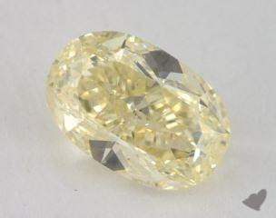 oval2.03 Carat fancy light yellowSI2