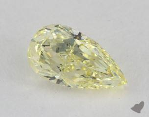 pear1.73 Carat fancy yellowVS2